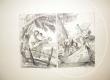 Immagine di Acquaforte 'Doppio episodio della fuga in Egitto' autore Giandomenico Tiepolo (lotto 3)