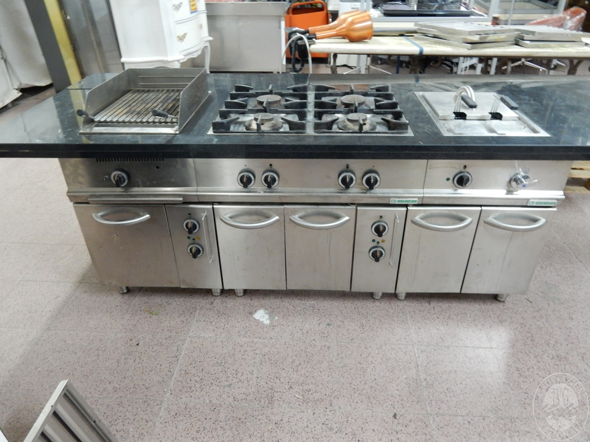 Cucine In Acciaio Prezzi. Amazing Top Cucina Acciaio Prezzi With ...