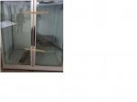 Immagine di NR.1 FRIGO A COLONNA DUE PORTE STRUTTURA IN ACCIAIO E SPORTELLI IN VETRO MARCA 'TEKNA' (160*90*200h) DOTATO DI GRIGLIE IN ACCIAIO, NR.1 MOTORE MARCA 'RIVACOLD'.