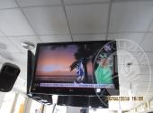 N°5 TV COLOR MARCA LG, BANCO BAR CON BASE IN MARMO, COMPLETO DI LAVELLO IN ACCIAIO E CELLA FRIGO CON 4 CASSETTI E DUE ANTE IN ACCIAIO