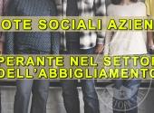 QUOTE SOCIALI SETTORE ABBIGLIAMENTO