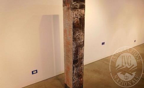 Immagine di Stele in legno/cemento autore Giorgio Celiberti