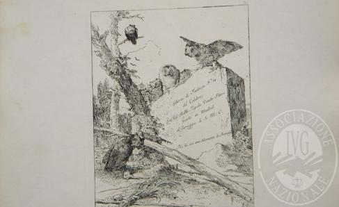 Immagine di Acquaforte 'Frontespizio .Scherzi di fantasia' autore Giambattista Tiepolo (lotto 1)