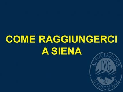 Alla depositeria IVG - Siena